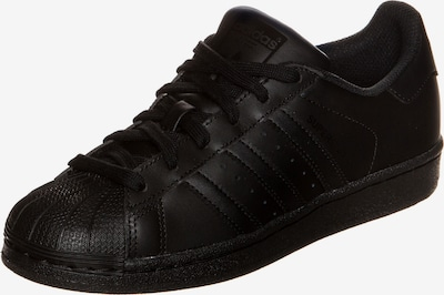 ADIDAS ORIGINALS Sneaker 'Superstar' in schwarz: Frontalansicht