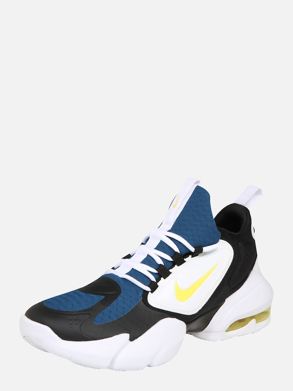 NIKE Sport Schuhe 'Air Max Alpha Savage' in blau gelb