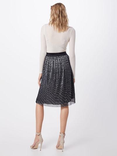 BRUUNS BAZAAR Spódnica 'Dariane Cecilie Skirt' w kolorze srebrnym: Widok od tyłu