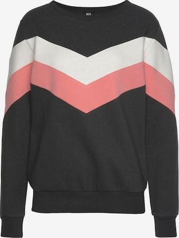 HIS JEANS Sweatshirt in Black