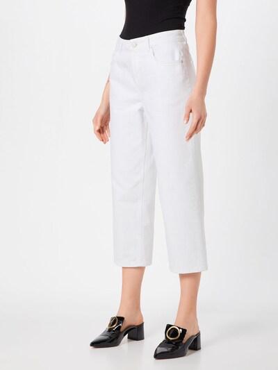 PIECES Hose 'BEX' in weiß, Modelansicht