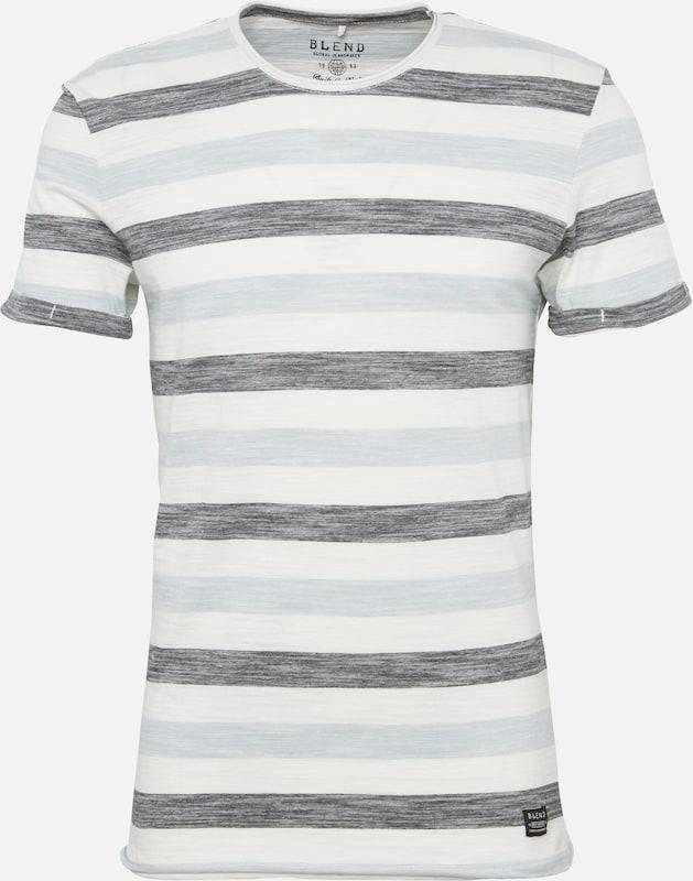 En Blend Bleu Blanc shirt ClairNoir T CxQWroedB