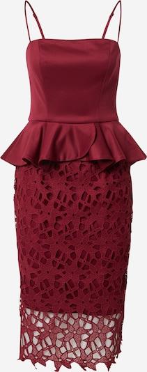 Chi Chi London Kleid 'Chi Chi Francie' in burgunder, Produktansicht