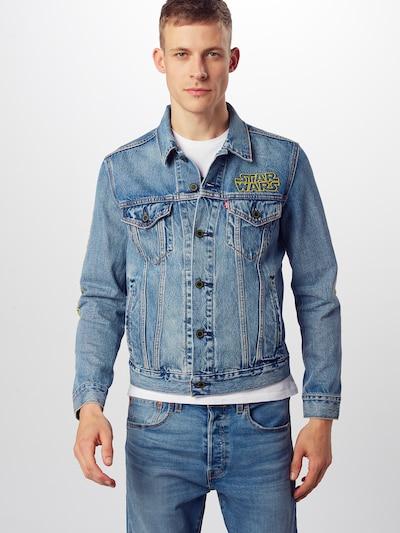 LEVI'S Jeansjacke 'TRUCKER' in blue denim: Frontalansicht