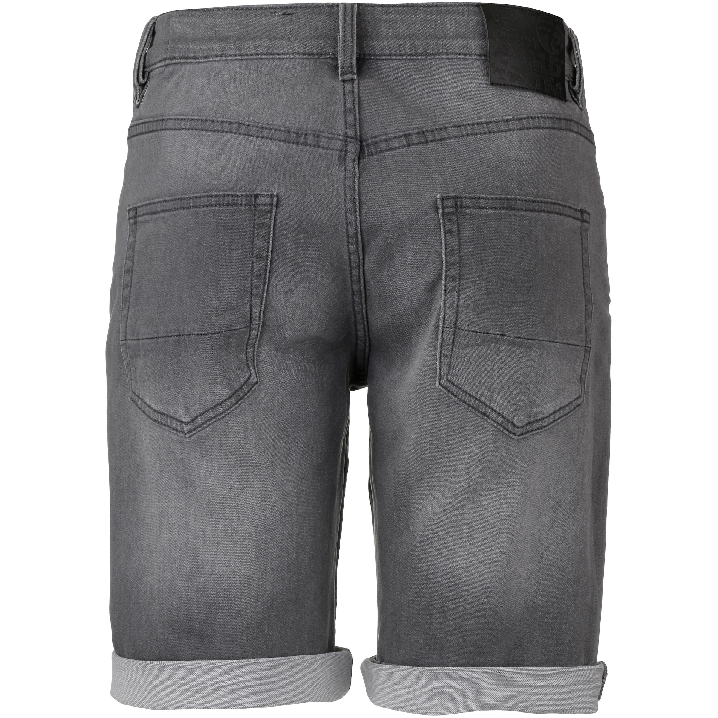 Wld Grey To Go' Denim Jeansshorts In 'time exoCrBd