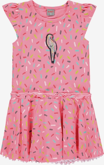 KANZ Kleid 'Papagei' in pink, Produktansicht