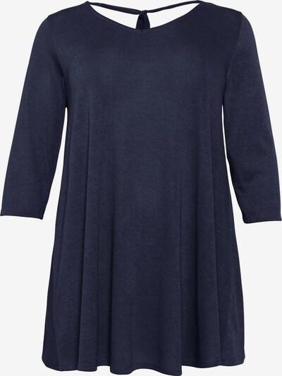 sheego style Pullover in marine, Produktansicht