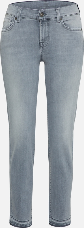 For Mankind Jean 'roxanne' All 7 En Gris shQxtrdBoC