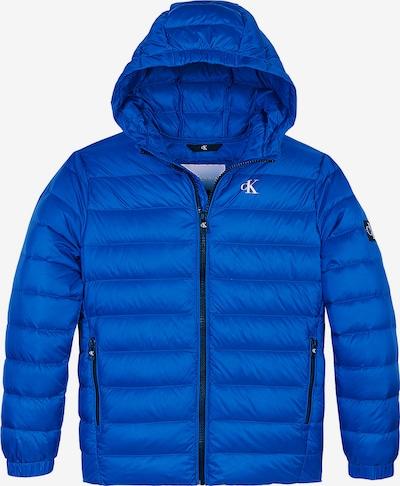 Calvin Klein Jeans Down Jacket in blau, Produktansicht