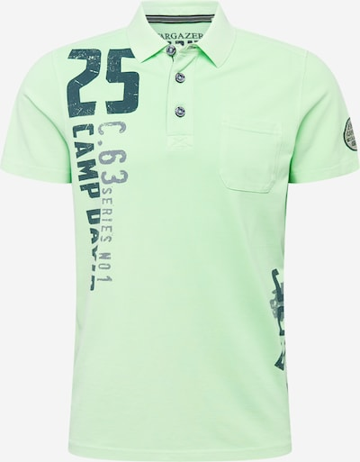 CAMP DAVID Shirt 'Greenland Stargazer I' in grau / petrol / mint, Produktansicht