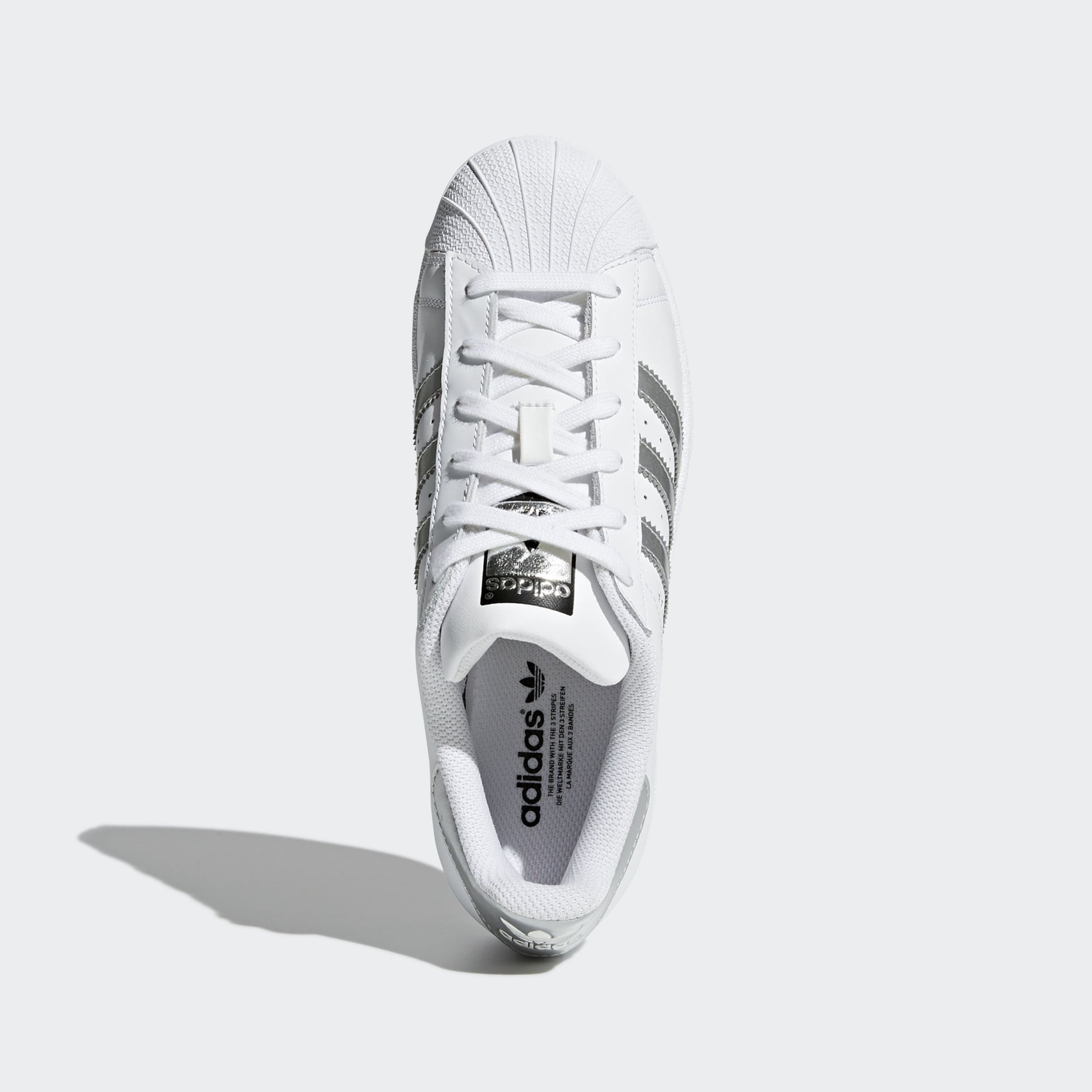 ADIDAS ORIGINALS Sneakers laag Superstar in Zilver / Wit Tweekleurig Ado0098012000004
