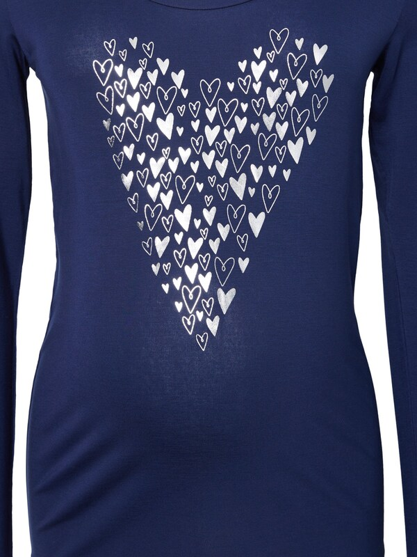 MAMALICIOUS Front printed Umstandshirt, langarm