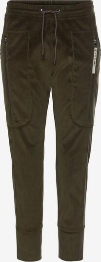 MAC Schlupfhose in dunkelgrün, Produktansicht