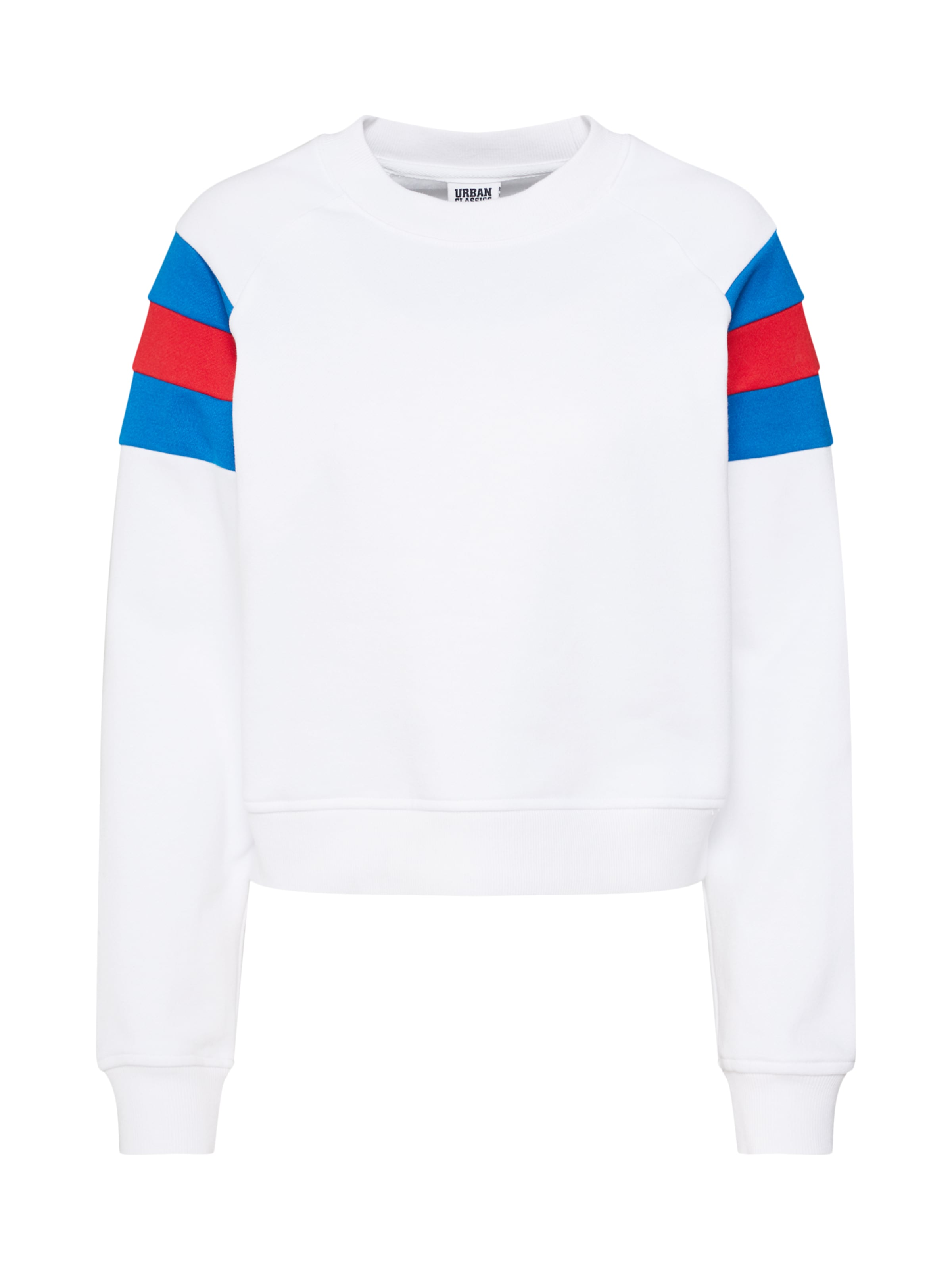 Sweat Urban shirt Blanc En Classics BleuRouge MSGUVqzp