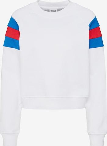 Urban Classics Sweatshirt in Weiß