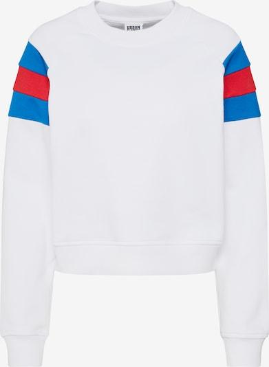 Urban Classics Sweatshirt in de kleur Blauw / Rood / Wit, Productweergave