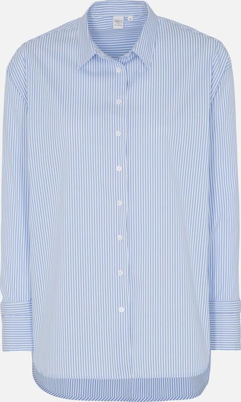 ETERNA Blause in hellblau   weiß  Mode neue Kleidung