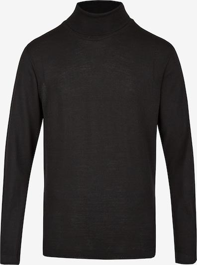 Tom Ripley Pullover in schwarz: Frontalansicht
