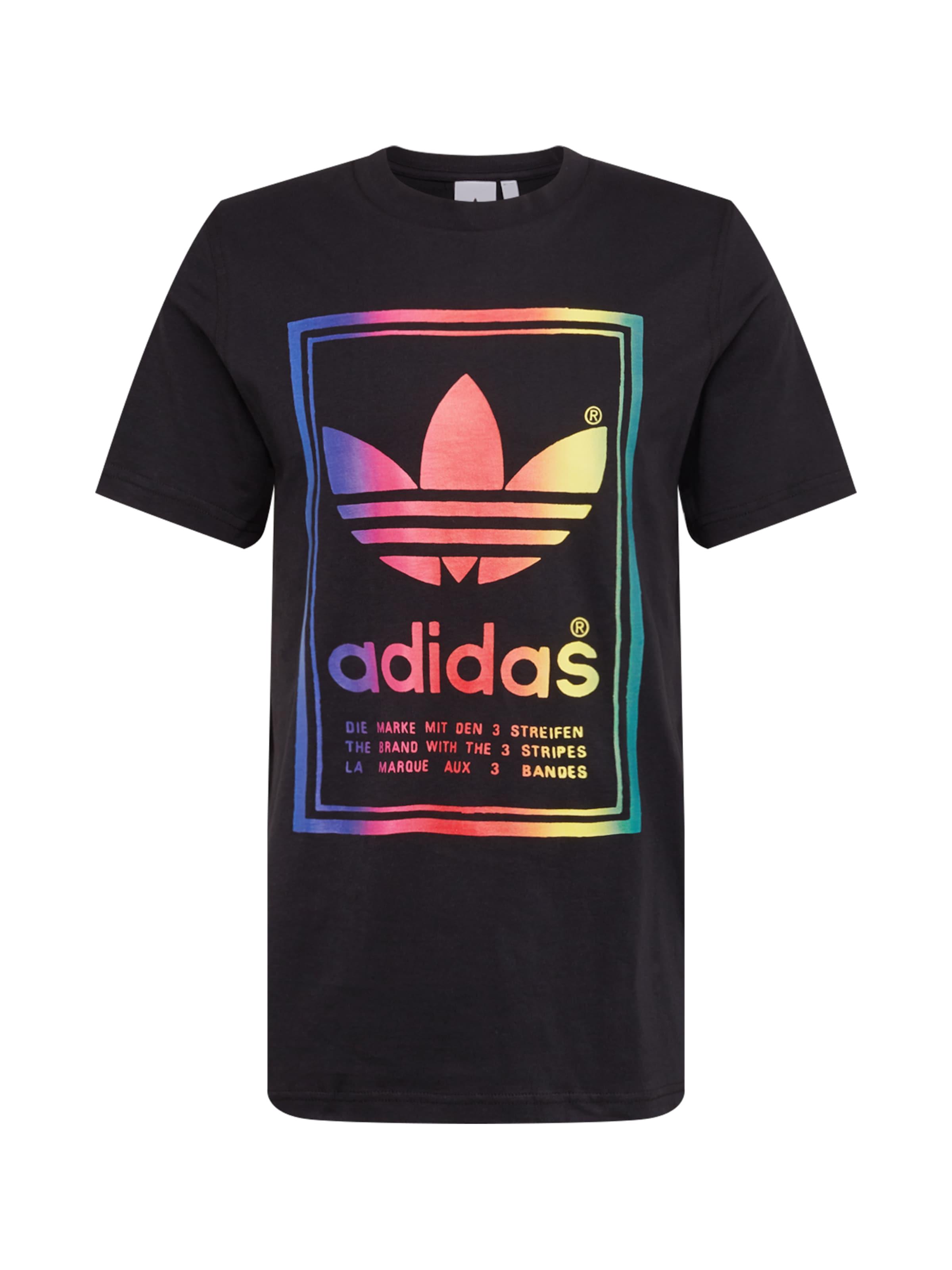 'vintage' T Adidas Originals MischfarbenSchwarz shirt In fby76g