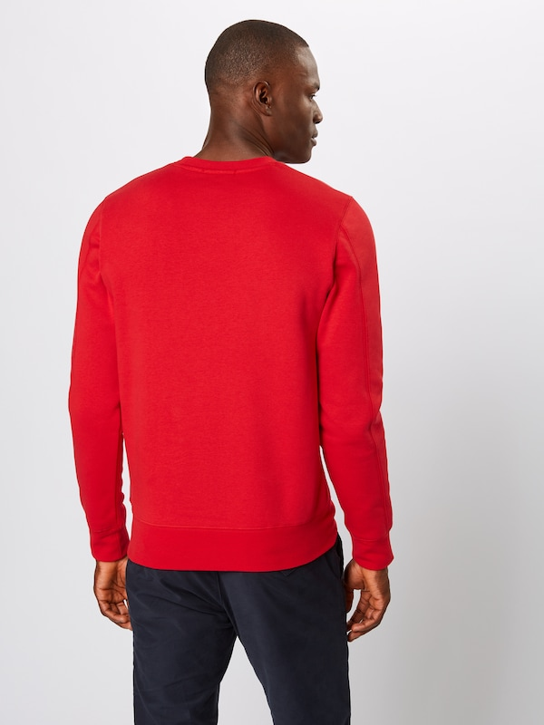 SCOTCH & SODA Sweatshirt in rot: Rückansicht