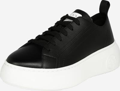 ARMANI EXCHANGE Niske tenisice u crna / bijela, Pregled proizvoda