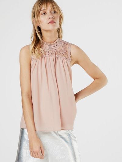 ONLY Blusentop 'NEW CAT' in rosa, Modelansicht