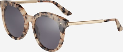 Kapten & Son Sonnenbrille 'Paris' in beige / schwarz, Produktansicht