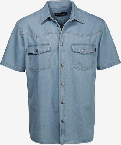 ARIZONA Jeanshemd in blau, Produktansicht