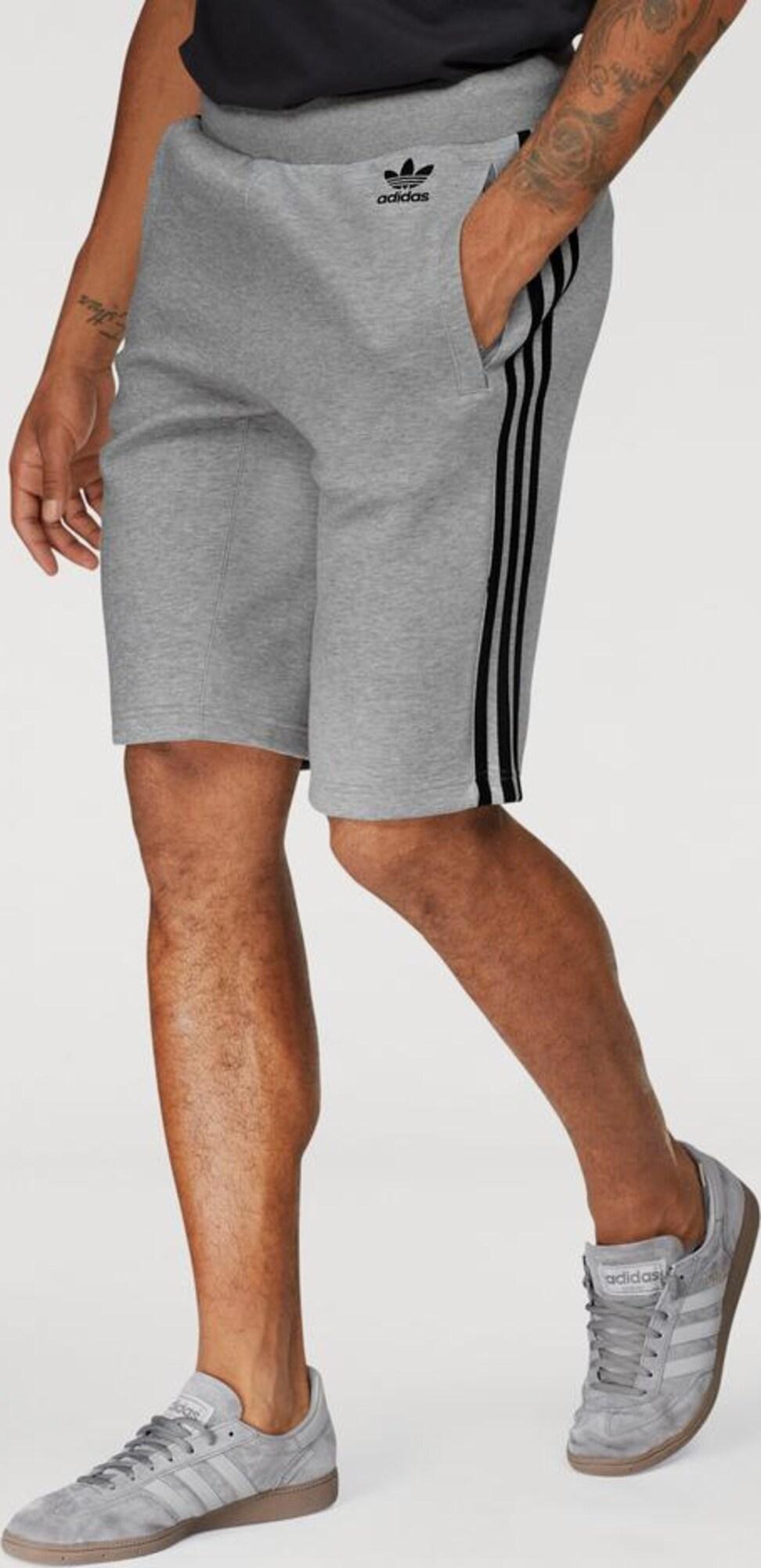 adidas originals shorts 39 curated shorts q2 39 in grau. Black Bedroom Furniture Sets. Home Design Ideas