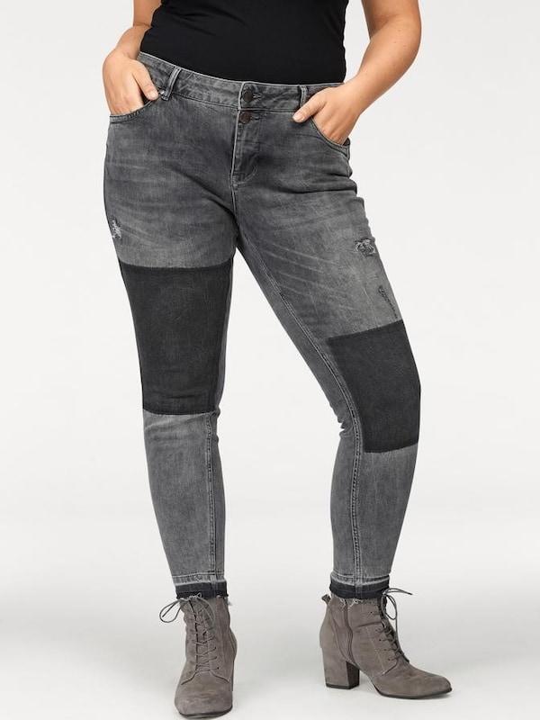 Zizzi Slim-fit-Jeans »Sanna«