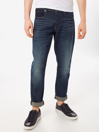G-Star RAW Kavbojke 'Kilcot straight tapered' | moder denim barva, Prikaz modela