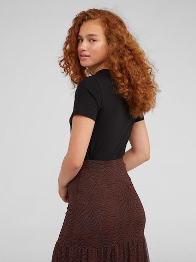 Tricou EDITED pe negru: Privire spate