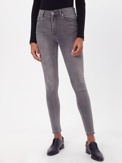 Dr. Denim Jeans 'Erin' in de kleur Grey denim: Vooraanzicht