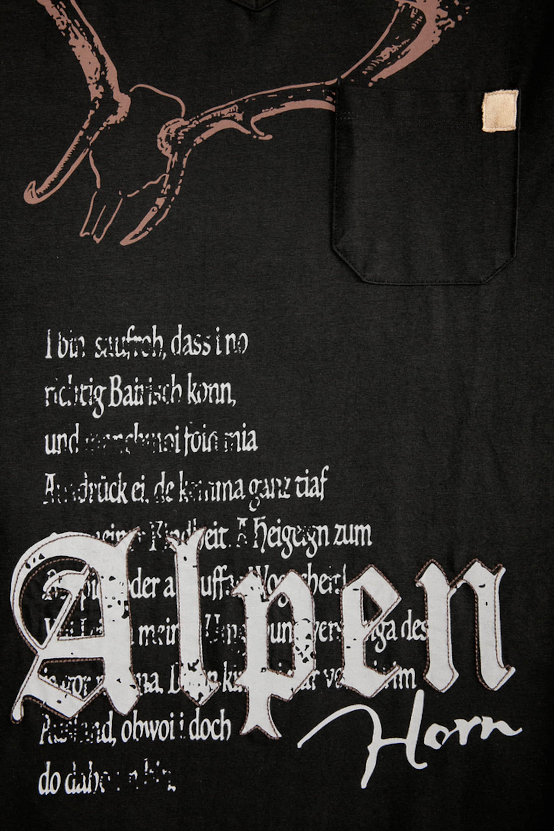 Footlocker Finish Original-Verkauf Online MARJO Trachtenshirt mit Printdetails 8lzYcD