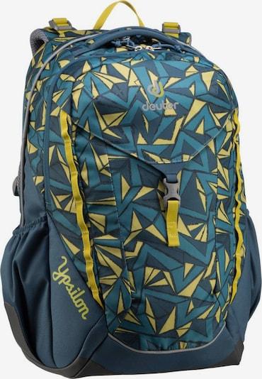 DEUTER Rucksack / Daypack ' Ypsilon ' in blau / gelb, Produktansicht