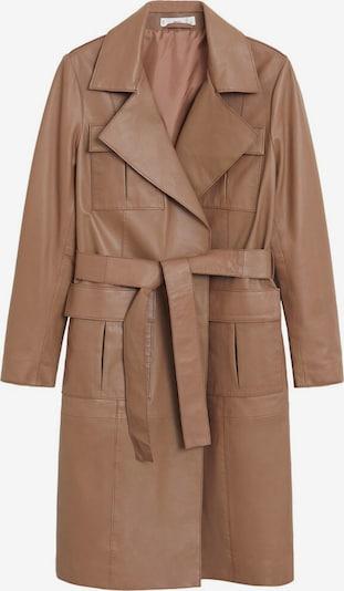 MANGO Płaszcz przejściowy w kolorze ircham, Podgląd produktu