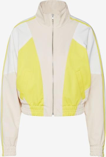 Geacă de primăvară-toamnă 'BOTTON' DRYKORN pe galben / alb, Vizualizare produs