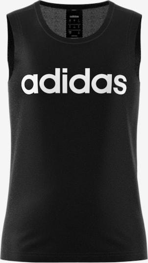 ADIDAS PERFORMANCE Top 'YG C Tank' in schwarz / weiß, Produktansicht