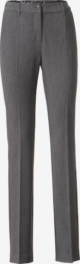 heine Pantalon à plis en gris, Vue avec produit