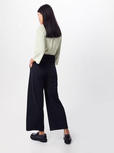 Pantaloni 'GEGGO' JACQUELINE de YONG pe negru: Privire spate