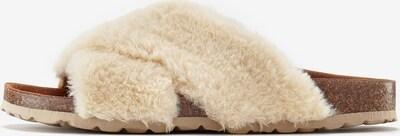 LASCANA Pantoufle en beige, Vue avec produit