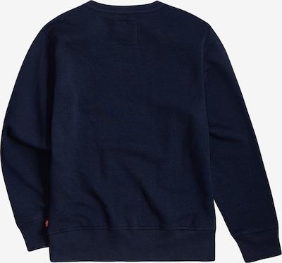 LEVI'S Sweatshirt 'Batwing' in blau / rot / weiß, Produktansicht