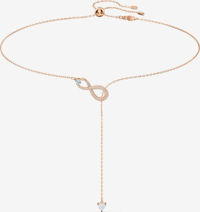 Grandinėlė 'Infinity' iš Swarovski , spalva - rožinio aukso spalva / skaidri spalva, Prekių apžvalga