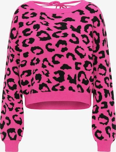 MYMO Pullover in pink / schwarz, Produktansicht
