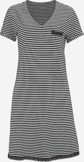H.I.S Nachthemd in schwarz / weiß, Produktansicht