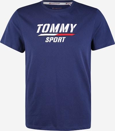Tommy Sport Funkční tričko - modrá / bílá, Produkt
