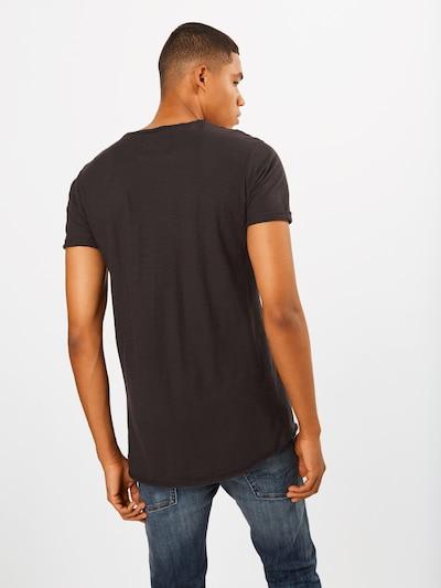 INDICODE JEANS Koszulka 'Alain' w kolorze czarnym: Widok od tyłu