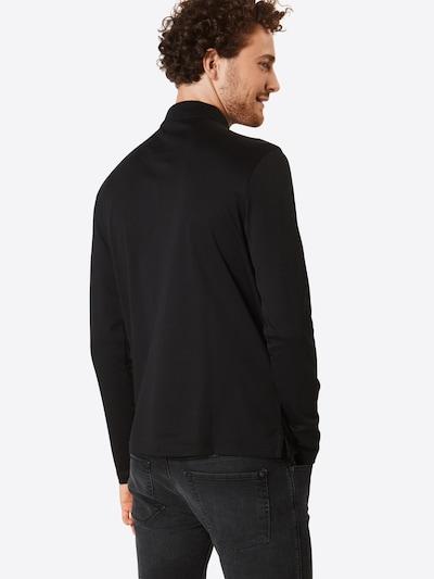 BOSS ATHLEISURE Poloshirt 'Pirol' in schwarz: Rückansicht