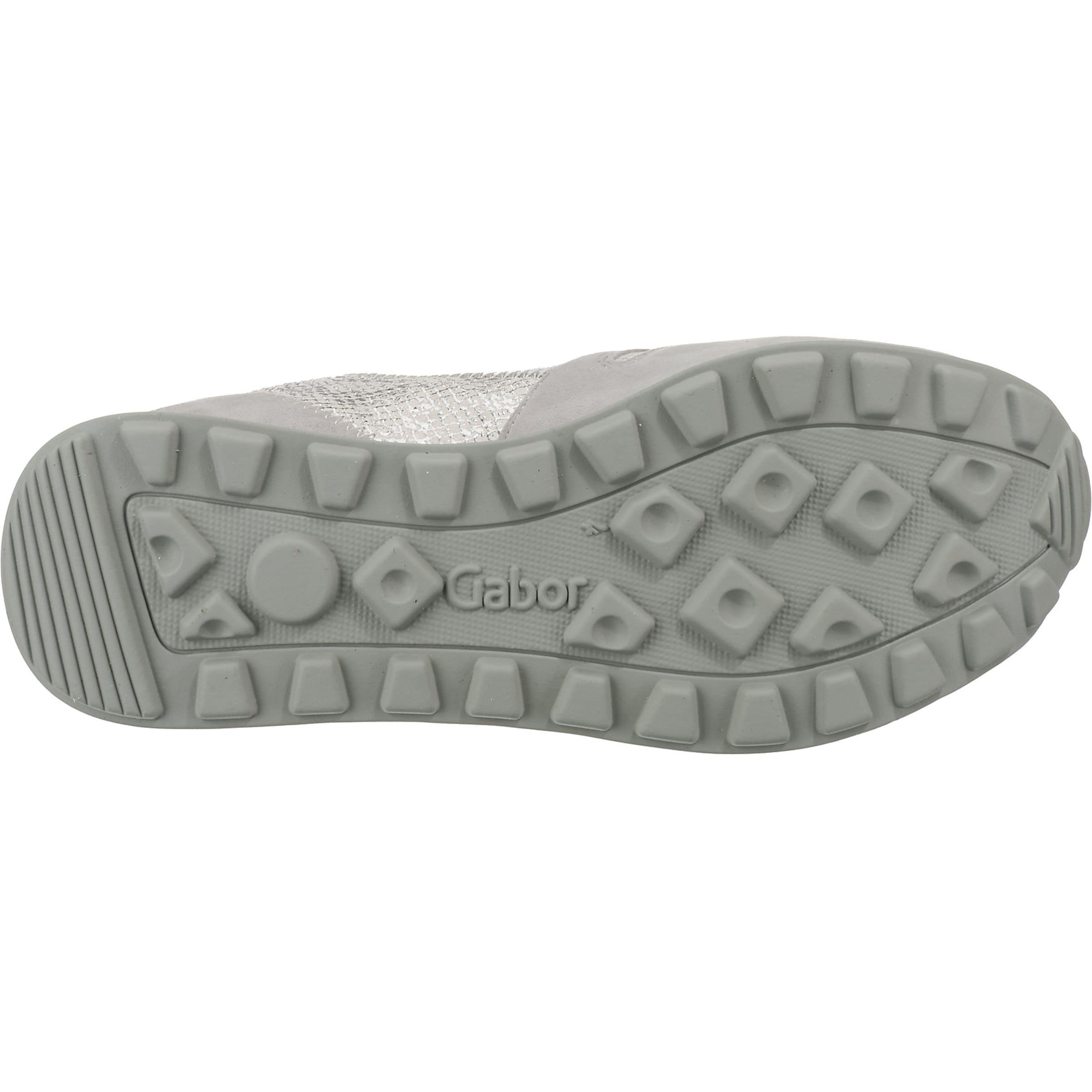 Sneakers Gabor Gabor GrauSilber Weiß In GrauSilber Sneakers Weiß Gabor In xBoQrdCtsh