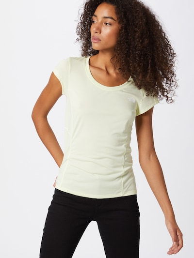 THE NORTH FACE Functioneel shirt 'HIKESTELLER' in de kleur Pasteelgeel, Modelweergave